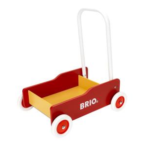 Lära gå vagn (röd) Brio