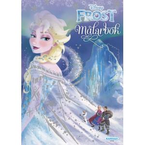 Frost målarbok med glitter