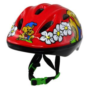 Cykelhjälm Bamse Röd
