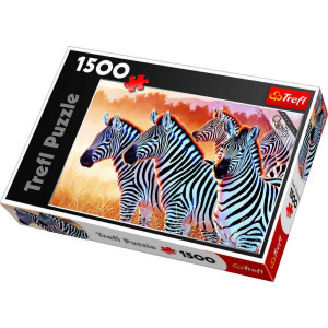 Zebra, 1500 bitar Trefl 26129