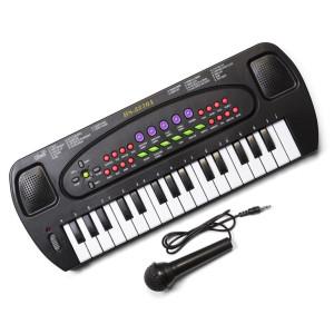 Keyboard med mikrofon