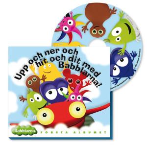 Babblarna CD Första albumet