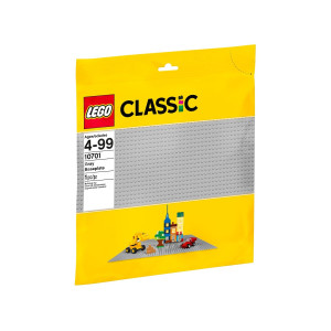 LEGO Classic Grå basplatta 10701