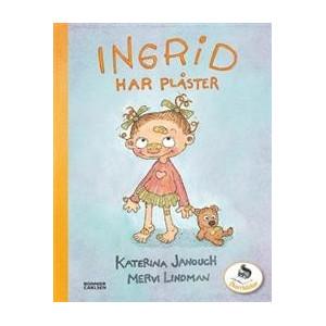 Ingrid har plåster