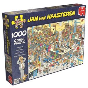 Jan van Haasteren Queued Up 1000 bitar 17466
