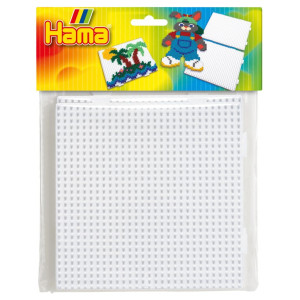 Hama Midi Pärlplatta kvadrat 2-Pack