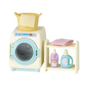 Sylvanian Families Tvättmaskin med tillbehör 5027