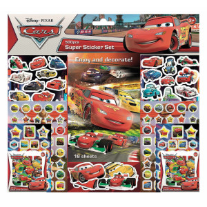 Cars Super Sticker Set