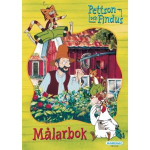 Målarbok Pettson och Findus