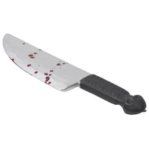 Kniv med blod