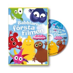 Babblarna Första filmen DVD