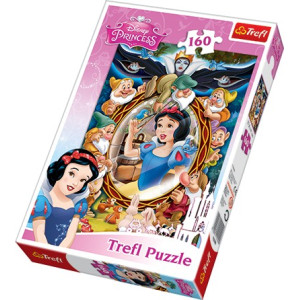 Trefl Snow white collage Pussel 160 bitar 15299