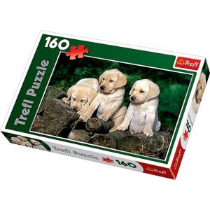 Trefl Labrador valpar Pussel 160 bitar 15157