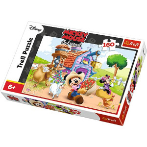 Trefl Mickey the farmer Pussel 160 bitar 15337