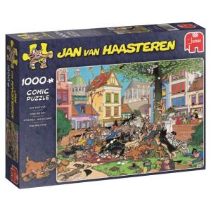 Jan Van Haasteren Get The Cat Pussel 1000 bitar 19056