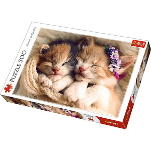 Sleeping Kittens Pussel 500 bitar 37271