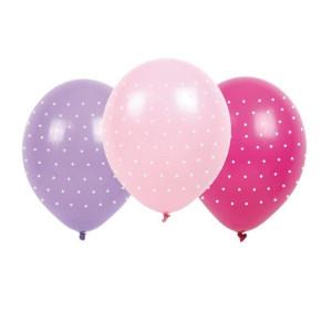 Jabadabado Ballonger Prickiga Rosa 6st
