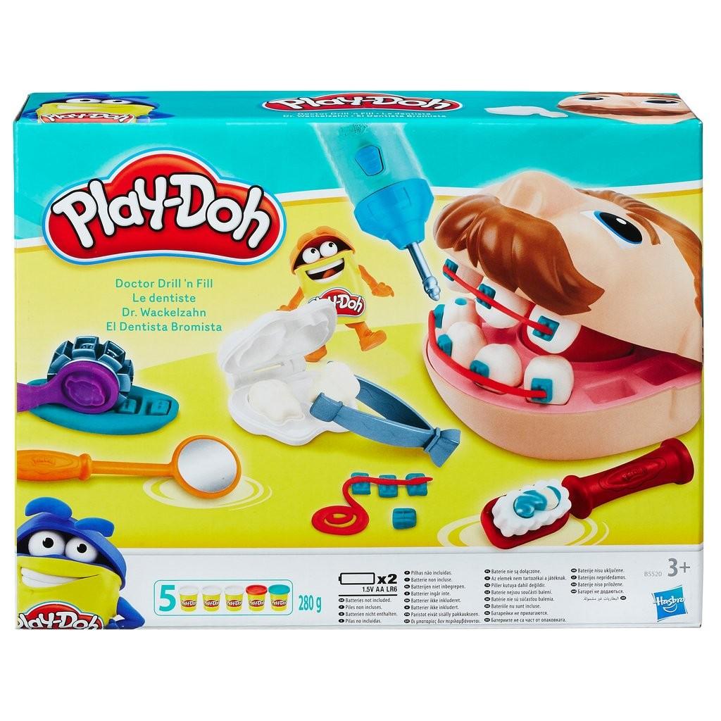 Play Doh Lekset Tandlakare