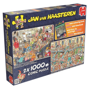 Jan Van Haasteren X-mas 2x1000 bitar 19024
