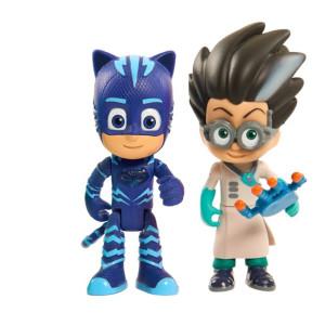 Pyjamashjältarna Lysande Figur Kattpojken och Romeo PJ Masks