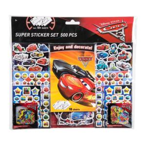 Cars 3 Mega Sticker set