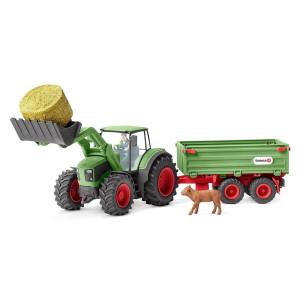 Schleich Traktor med släp 42379