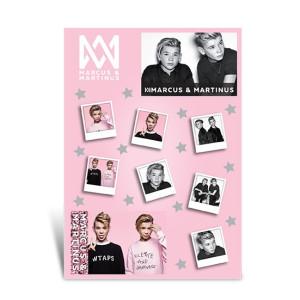 Marcus och Martinus Stickers med glitter