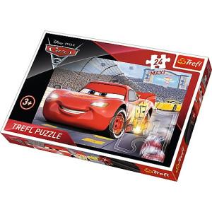 Disney Cars 3 Maxi Pussel 24 bitar