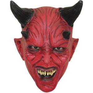 Latexmask Djävul Barn