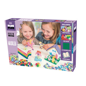 Plus Plus Mini Pastel Learn to Build