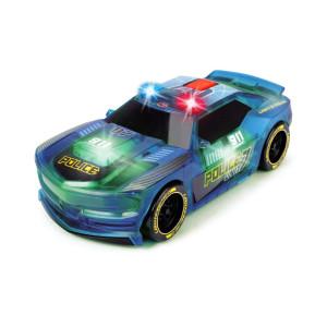 Dickie Toys Polisbil med ljud och ljus