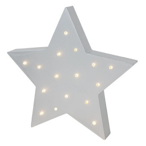 Jabadabado Lampa i trä Stjärna