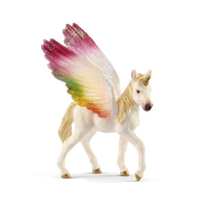 Schleich Bayala Rainbow Unicorn med vingar Föl 70577