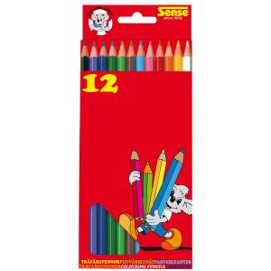 Sense Träfärgpennor 12-pack