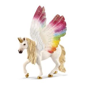 Schleich Bayala Rainbow Unicorn med vingar 70576