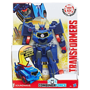 Transformers 3-step Hyperchange hero Soundwave