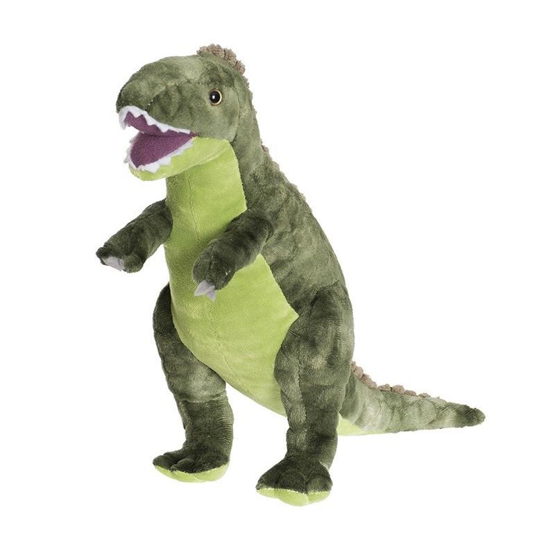 Teddy Dino Stor Grön T Rex