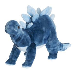 Teddy Dino Stor Blå Stegosaurus