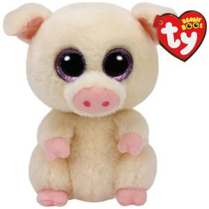 TY Beanie Boos Piggley Gris