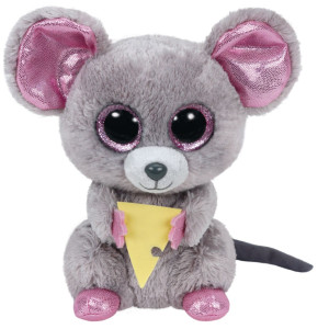 TY Beanie Boos Squeaker Mus med ost