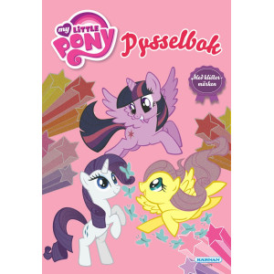My Little Pony Pysselbok med klistermärken