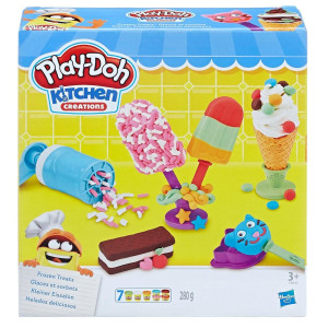 Play-Doh Frozen Treats Glassar