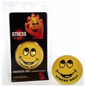 Stressboll Squeeze Smiley