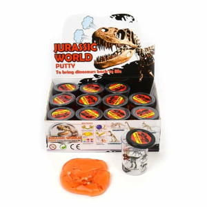 Putty Dino World Klämlera med dinosaurie
