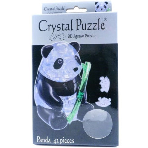 Crystal Puzzle 3D Panda 42 bitar