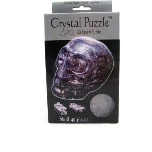 Crystal Puzzle 3D Dödskalle 48 bitar