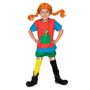 Pippi Långstrump Utklädningskläder 2-4år