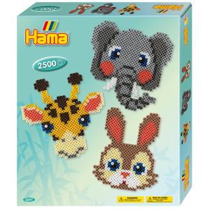 Hama Midi Gift Box Zoo 2500 st