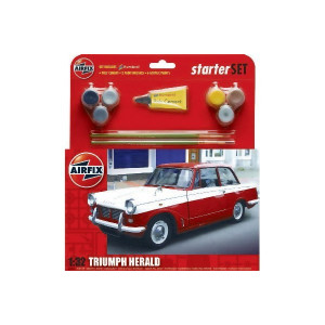 Airfix Startset Triumph Herald Modellbyggsats