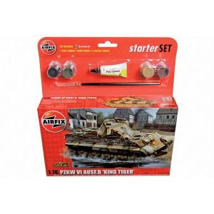 Airfix Startset King Tiger Modellbyggsats